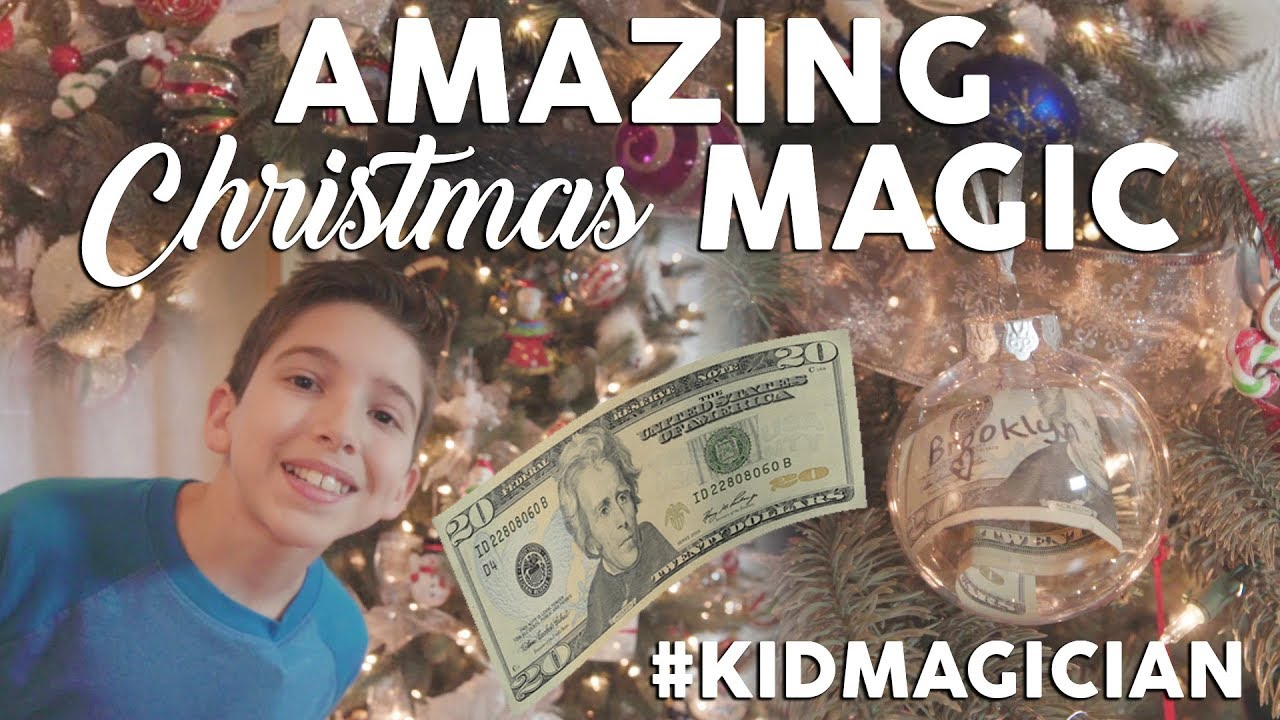 Americas Got Talent Christmas.Amazing Christmas Magic From America S Got Talent Kidmagician
