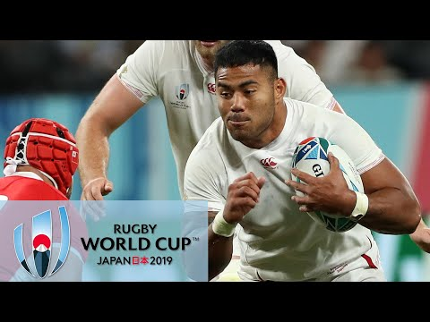 Rugby World Cup 2019: England Vs. Tonga | EXTENDED HIGHLIGHTS | 9/22/19 | NBC Sports