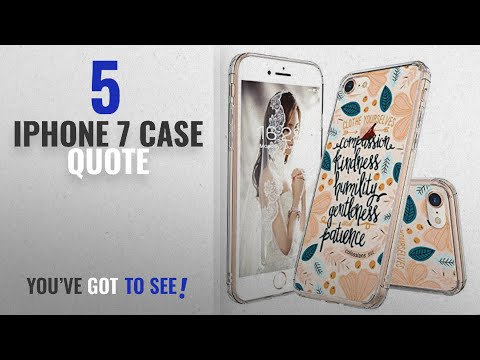 top-5-iphone-7-case-quote-[2018-best-sellers]:-iphone-8-case,-iphone-7-case-slim,-mosnovo-floral