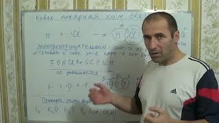 §11, 8кл.Ковалентная полярная химическая связь