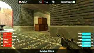 Na`Vi vs AGAiN de_train map 1