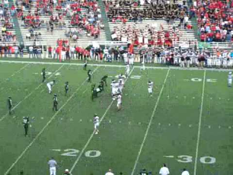 Garrett Gilbert screen pass TD 4A champ game