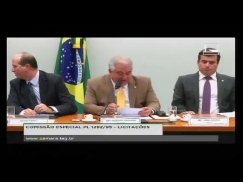 COMISSÃO ESPECIAL PL 1292/95 - LICITAÇÕES - Reunião Deliberativa - 03/04/2018 - 14:36