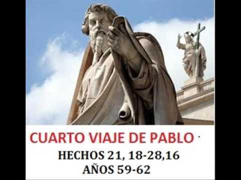 PARTE 4: TERCER Y CUARTO VIAJE DE SAN PABLO