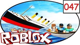 ROBLOX [047] Sinking Ship Simulator | Lets play | deutsch | german