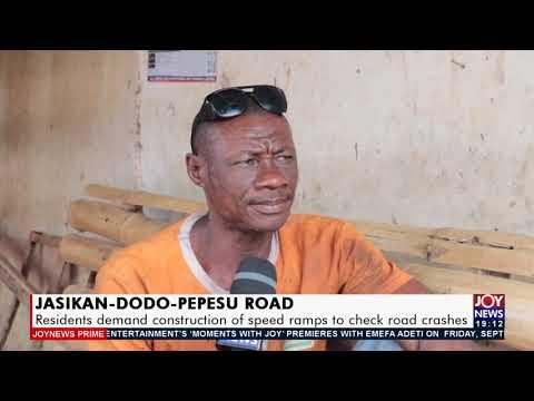 Jasikan-Dodo-Pepesu Road -  Joy News Prime (17-9-21)
