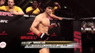 Gameplay EA SPORTS™ UFC 2014 Bruce Lee VS er niño del Tebeo