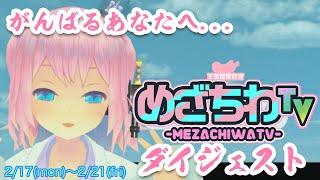 【忙しい人の為の】めざちわTV ダイジェスト 02/17~02/21