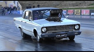 MAKDESSI BROTHERS RACING SUPERCHARGED VALIANT 6.33 @ 211 MPH