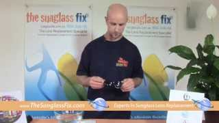 How to Replace Sunglass Lenses in Ray Ban Wayfarer Sunglasses-Hard Framed Sunglass Glass Lenses