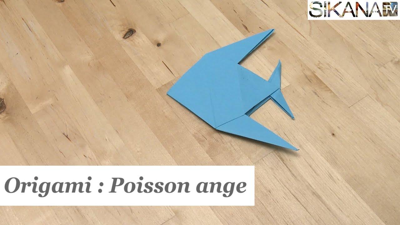 Origami Poisson Ange Educatout