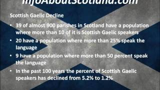 Scottish Gaelic - All The Information About Scottish Gaelic