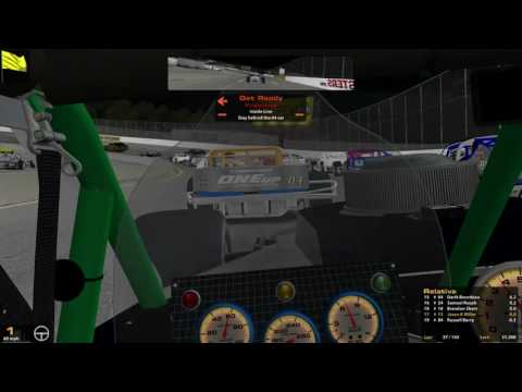 iRacing S.A.R.A. SK Modifieds @  South Boston 5-16-16