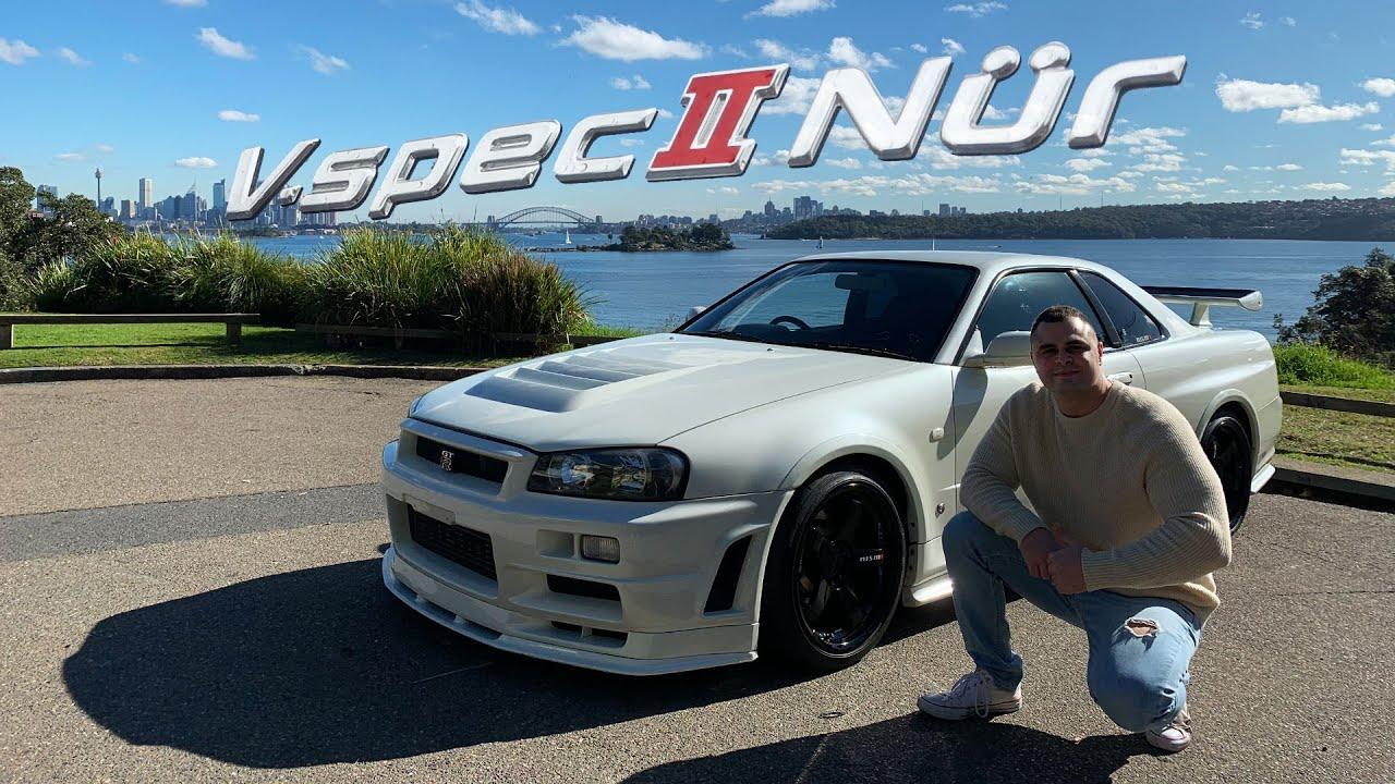 Nissan Skyline R34 GTR Vspec II NUR NISMO Factory Upgrade Review