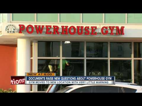 Documents raise new questions about Powerhouse Gym