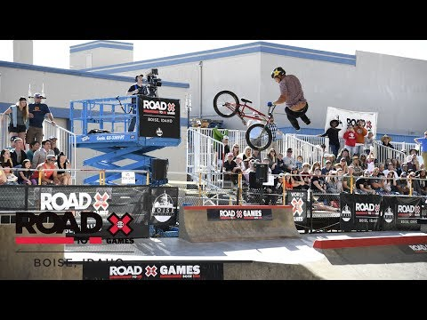 Nick Bruce qualifies first | Road to X Games Boise Qualifier