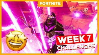 ALLE WEEK 7 CHALLENGES + ROAD TRIPPERS SKIN ENFORCER! - Fortnite