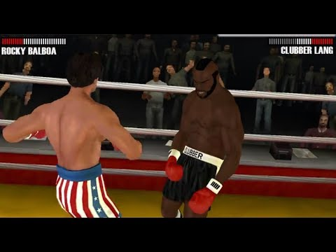 Rocky Balboa - PSP (PPSSPP) Rocky Balboa vs Clubber Lang 2 - Historical Fight