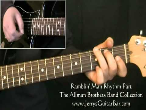 How to Play Ramblin' Man The Allman Brothers Band Part 1