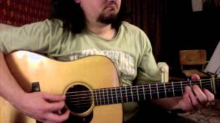 Rich Kearns  -  Over the Waterfall  - Flatpicking & Crosspicking Bluegrass Guitar