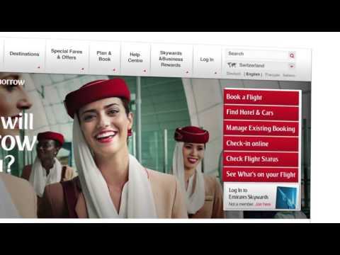 Emirates Global Website
