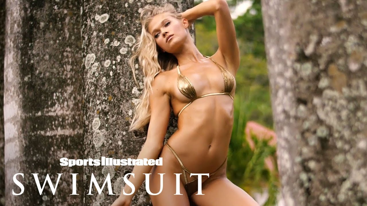Vita Sidorkina Explores Nevis In Jaw-Dropping Bikinis