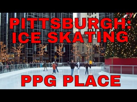 Pittsburgh: Ice Skating: PPG Place December 22, 2007