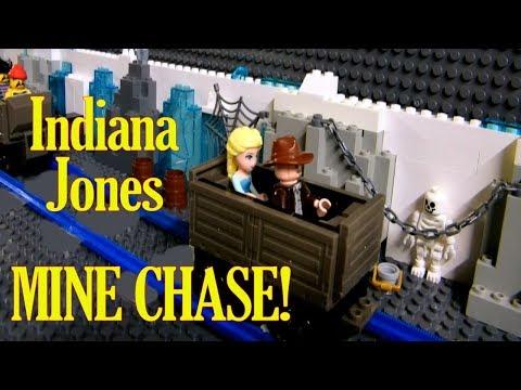Lego Indiana Jones Mine Cart Chase