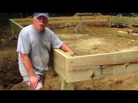 DIY Shed AsktheBuilder How to Build a Wood Frame Floor Part 1