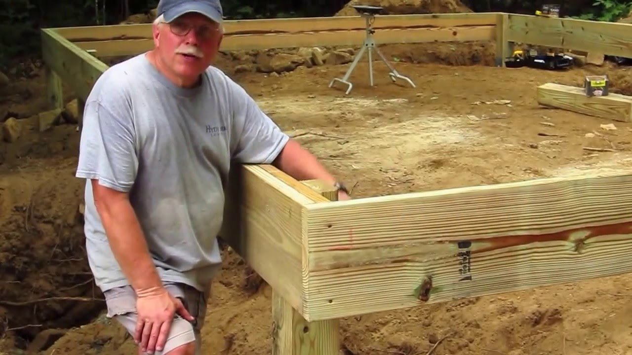 DIY Shed AsktheBuilder How to Build a Wood Frame Floor ...