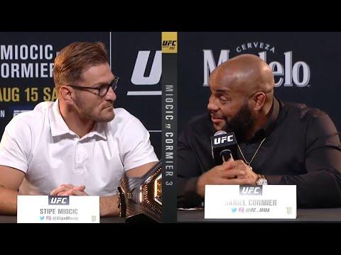 UFC 252: Пресс-конференция