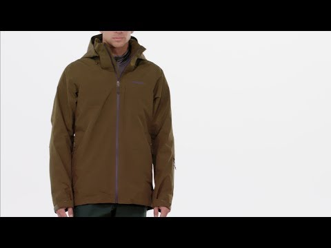 bcdce72fd Patagonia Men's Insulated Powder Bowl Jacket - YouTube