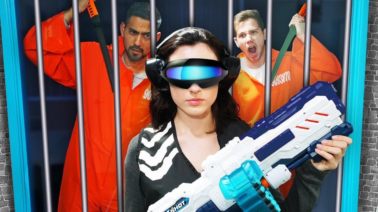 nerf-robot-prison-team-escape-challenge