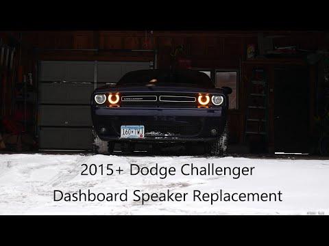 2015+ Dodge Challenger Dash Speaker Upgrade