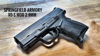 NEW Springfield Armory XD-S MOD 2 9mm - Feature Packed And Ready For EDC!