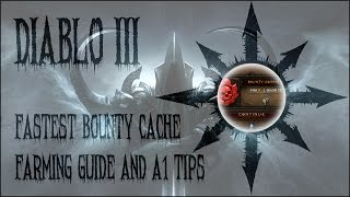 Diablo 3 - Fastest bounty cache farming (Bounty Split Farm) + A1 tips