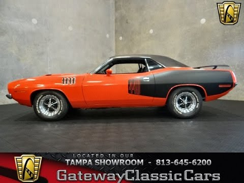 1970 Plymouth Barracuda: Tampa showroom stock TPA#160