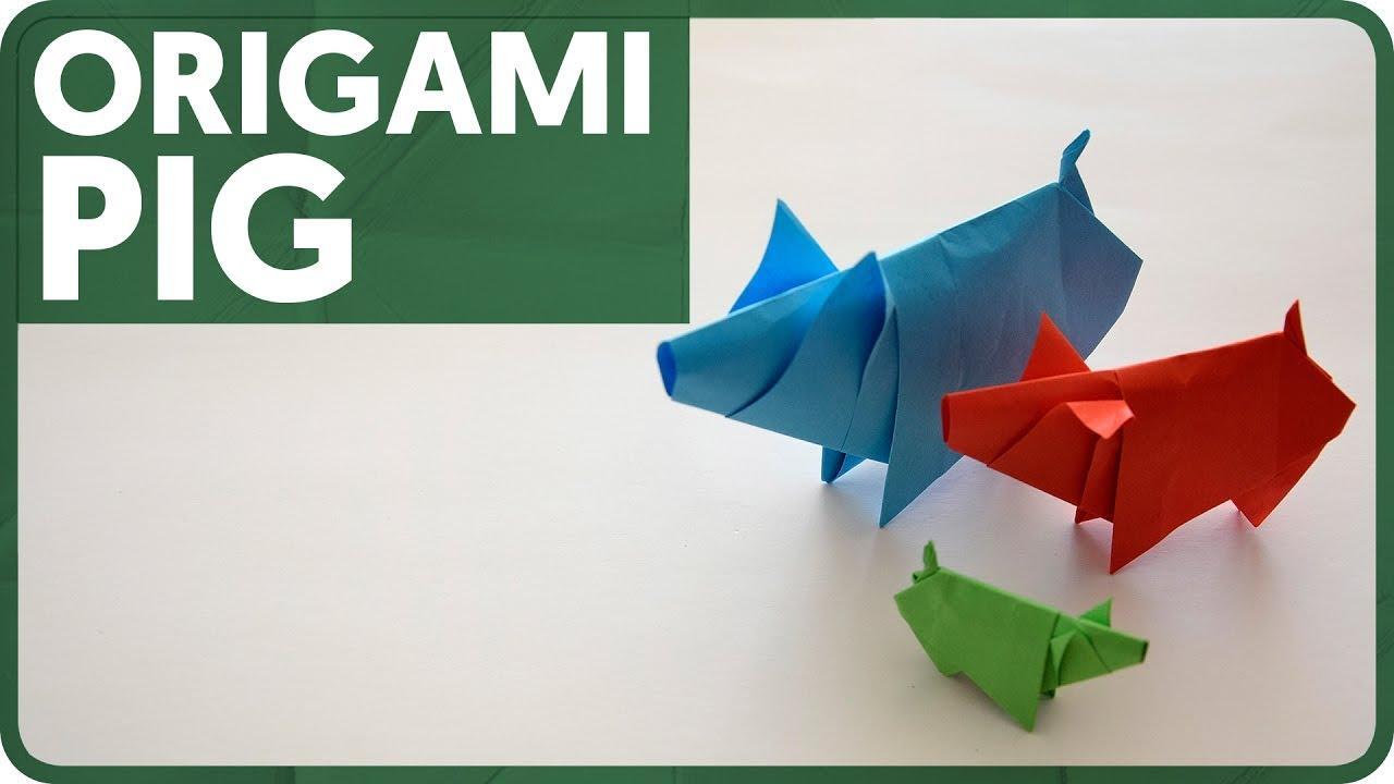 Diagram origami pig eduardo clemente youtube diagram origami pig eduardo clemente pooptronica