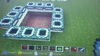 Como fazer um portal para o Fim no Minecraft Xbox 360