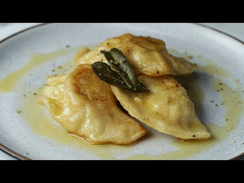 Brown Butter Sage Pierogi