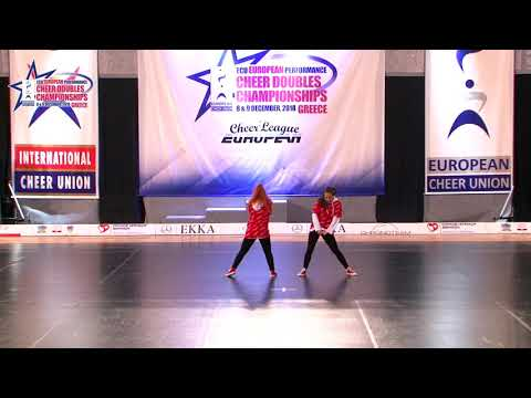 137 JUNIOR DOUBLE CHEER HIP HOP Jalagania Shikhashvili GEORGIAN NATIONAL TEAM GEORGIA