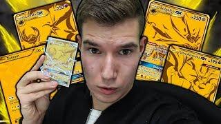 POKÉMON TCGO: 100 PACKS auf der GOLD-Karten Suche!