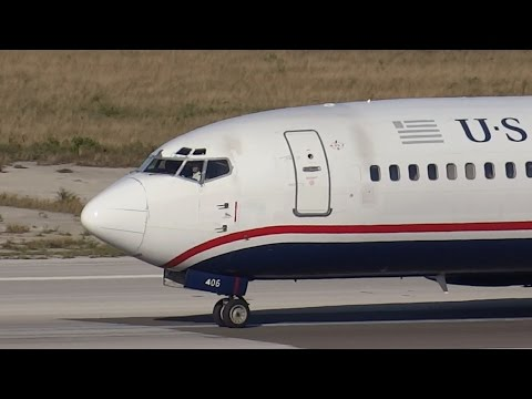 US AIRWAYS | Goodbye to the 400s | Boeing 737-400 | Nassau Bahamas
