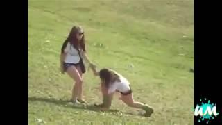 Пьяные девушки снятые на камеру.
