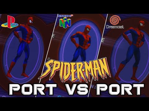 Port vs Port | Spider-Man 2000 for PS1, N64, and Dreamcast |  Kelphelp