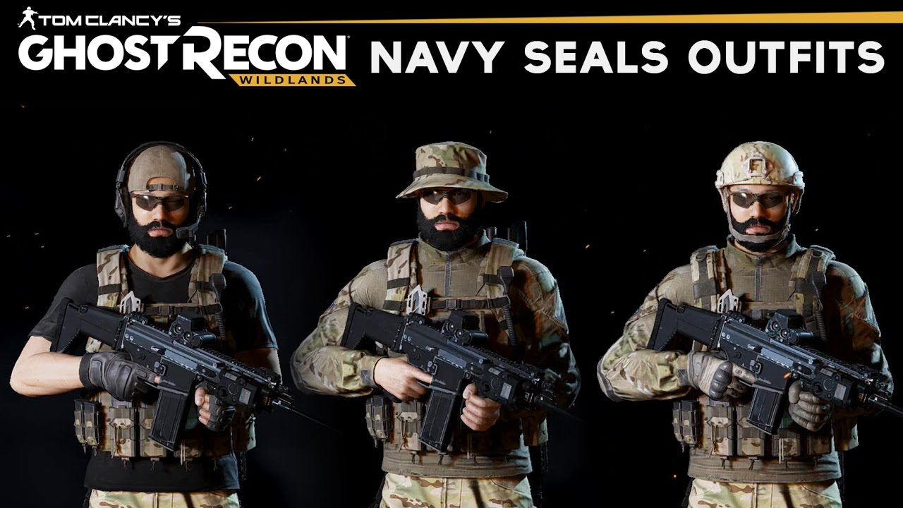 Ghost Recon Wildlands - How to make Navy Seal Outfits (SEAL Uniform)