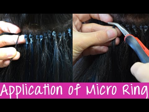 Micro link micro ring no damage cold fusion hair extensions micro link micro ring no damage cold fusion hair extensions application instant beauty youtube solutioingenieria Images