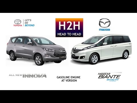 Head2Head 54 All New Innova vs Mazda Biante