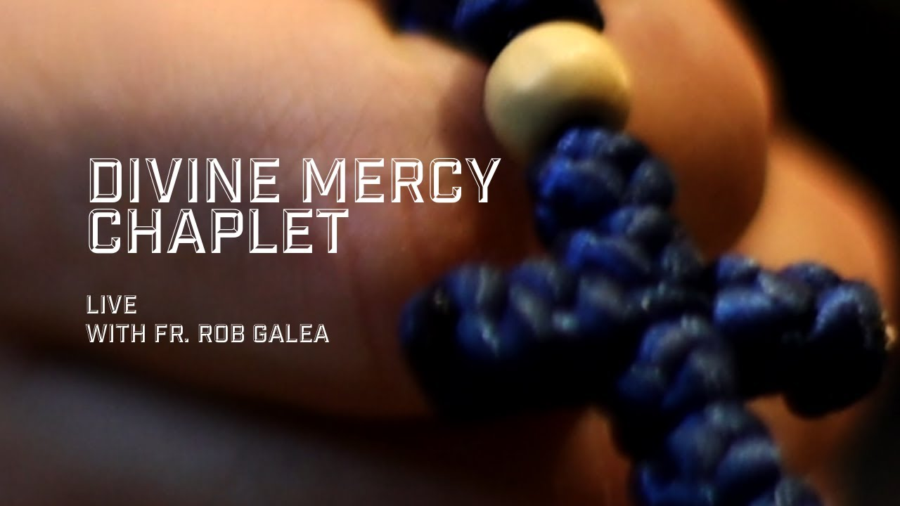 LIVE Divine Mercy Chaplet with Fr. Rob Galea (Spoken)
