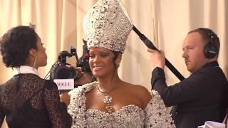 At Met Gala, Cardinal Dolan and celebrities talk Catholic Imagination